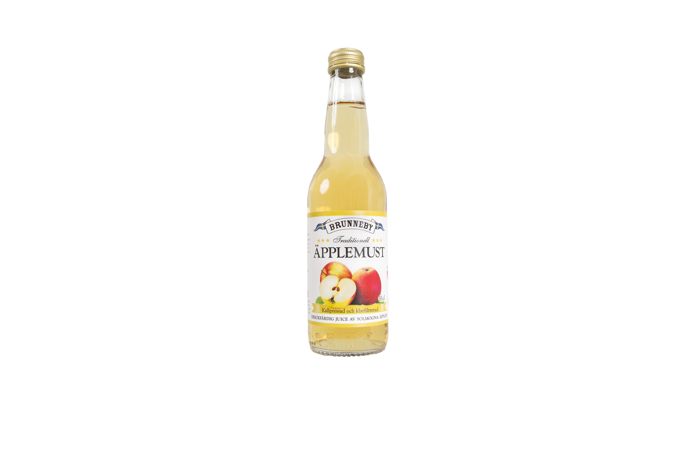 Högupplöst bild på Äpplemust i 33cl flaska.