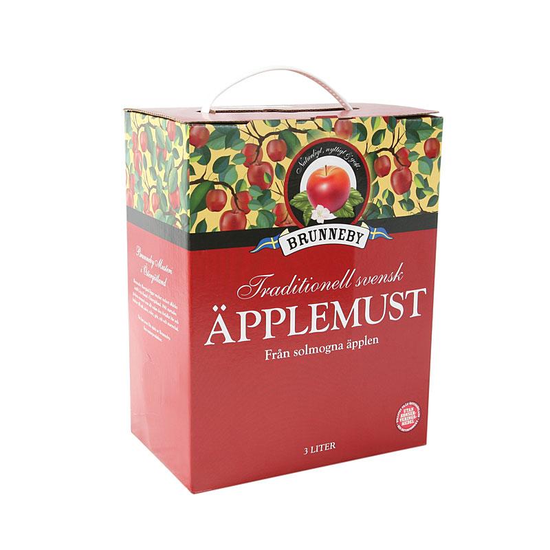 Högupplöst bild på Äpplemust i 3l bag-in-box.
