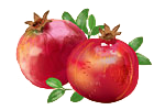 Bild på granatäpple