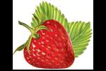 Bild på jordgubbe
