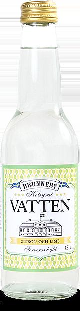 Bild på Kolsyrat vatten citron och lime i 33cl flaska.