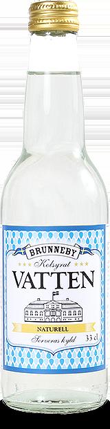 Bild på Kolsyrat vatten naturell i 33cl flaska.