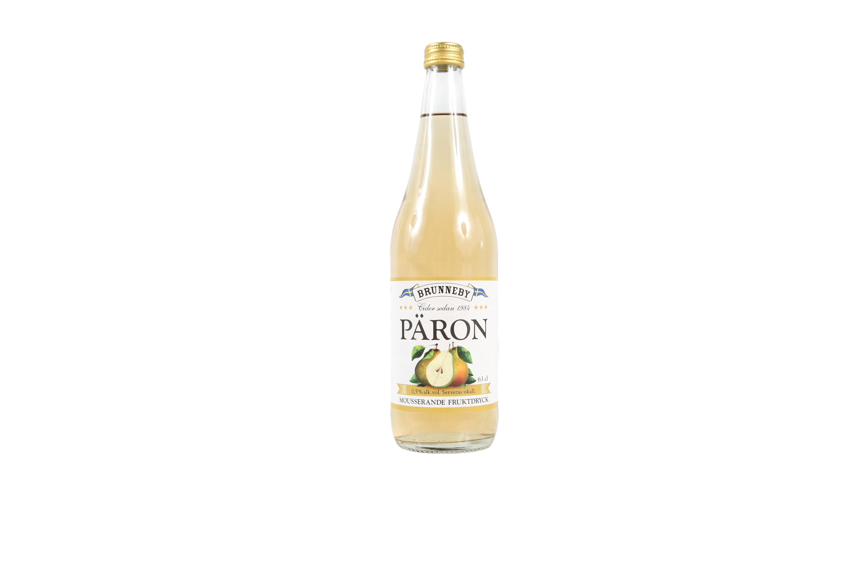 Högupplöst bild på Mousserande Päron i 63cl flaska.