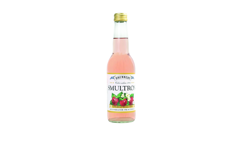 Högupplöst bild på Mousserande Smultron i 33cl flaska.