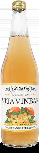 Bild på Mousserande Vita Vinbär i 63cl flaska.