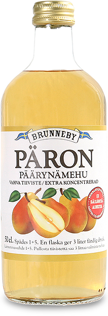 Bild på Päronsaft i 50cl flaska.