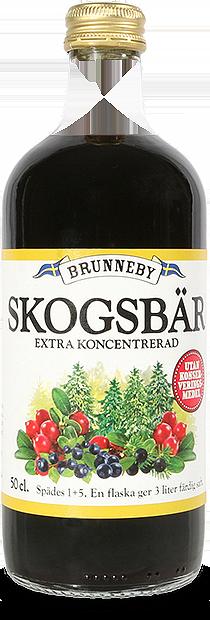Bild på Skogsbärssaft i 50cl flaska.