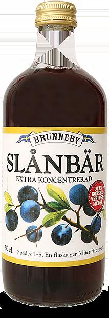 Bild på Slånbärssaft i 50cl flaska.