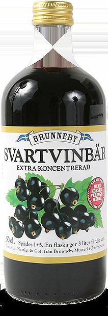 Bild på Svartvinbärssaft i 50cl flaska.