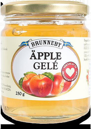 Bild på Äpplegelé i 250g burk.