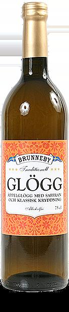 Bild på Äppelglögg med saffran i 75cl flaska.