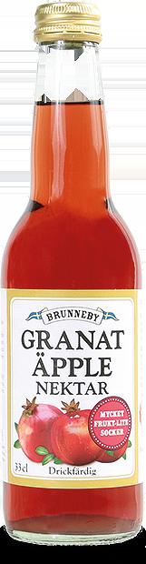 Bild på Granatäpplenektar i 33cl flaska.