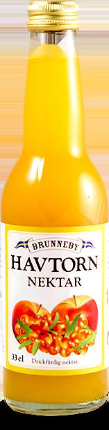 Bild på Havtornsnektar i 33 cl flaska.