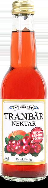 Bild på Tranbärsnektar i 33cl flaska.