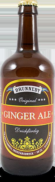 Bild på Ginger Ale i 50 cl flaska.